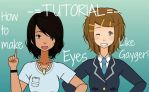 How to make Eyes like Gayger!! (TUTORIAL) by GaygerTheLame