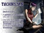 Definition: Technician by KanonFodder