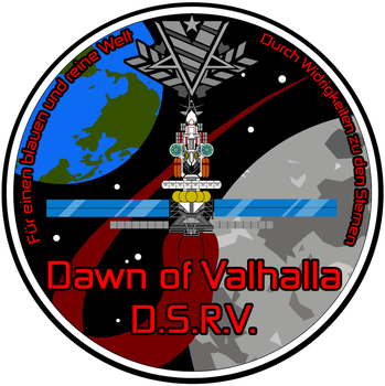 Dawn of Valhalla Mission Patch by Chobittsu-Studios