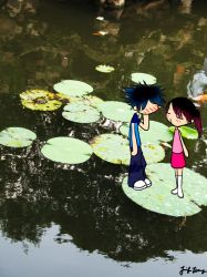 lily pad love by KyOuJi