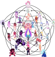 Crystal Gem Triacontafusion by DCarrier