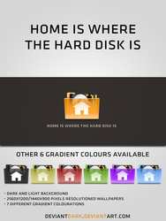 Home is where the hard disk is by deviantdark
