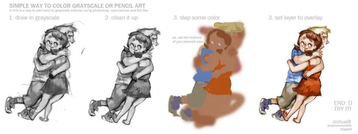 How to Color from Grayscale by oso-oso