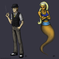The Gambler and the Genie by JenL