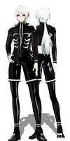 NC:TDA Adult Ghoul Len by ThisisKENZ
