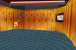 locker room background by DerpInc