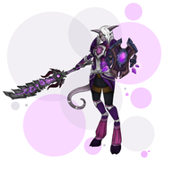 ~Draenei Commission~ by Bluence