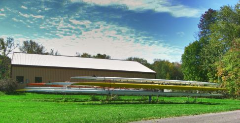 Rowing club, Liverpool, NY by Lectrichead