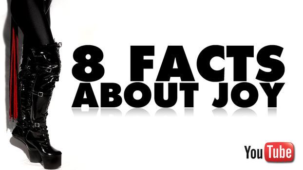 3 Years Anniversary - 8 Facts about Joy by joyofsunfire