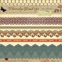 Lace Borders No. 4 by starsunflowerstudio