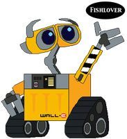 Here Comes WALL-E by Fishlover