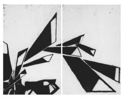 Charcoal Abstract 2D Design by sbv20