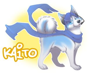 KAITO - Dog Edition by Nyaasu