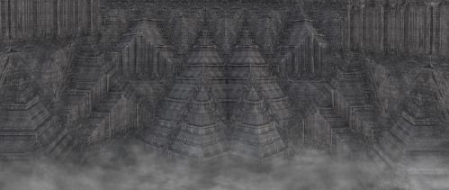 Alien cities pyramids 101 by eddyhaze