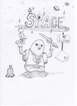 Das Space-Bird by Spyhamschter