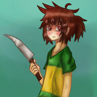 Chara Dooble (stupid attempt at drawing guys) by Jolibe