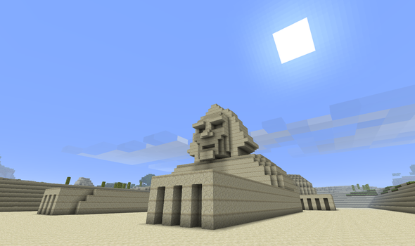 My Minecraft Sphinx by Markside