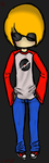 Dave Strider by DrawinWithoutReason