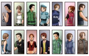 Heroes From RE by Aitia