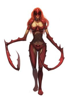 Red Mantis Leader by nJoo
