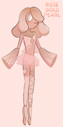 Rose Gold Pearl by BlueDiaamond