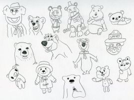 Awesome Meeting Of Awesome Bears by wintercool612