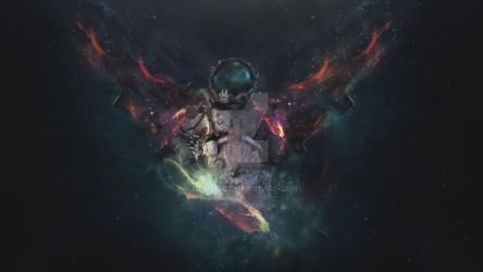 Astronaut Angel by GumeNiii