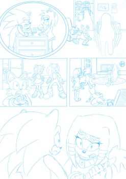Sonic The Comic (S.T.C) Collabe Page Test by zeldalegends4525