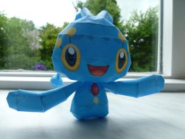 manaphy papercraft