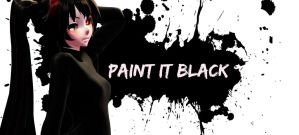 [MMD] Paint it Black by o0Glub0o