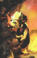 Arcanine Pokemon by Goldenbull