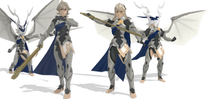 [MMD] SSB Wii U Corrin/Kamui DL by ShadowlesWOLF