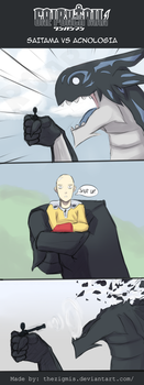 [Day #6] Saitama vs Acnologia by thezigmis