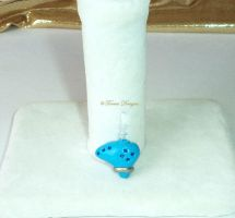 Ocarina of Time Dust Plug Charm Handmade by TorresDesigns