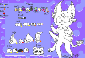 Angalite (Closed Species) Reference by SpookySherbs