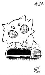 Inktober2016 - Day 22 - Little - Joltik by This-Is-Jo