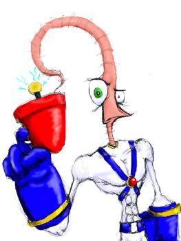 Earthworm Jim by Faust11