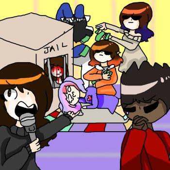 Monopoly Night by Meep879