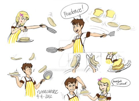 Fun with Flapjacks by nonecansee