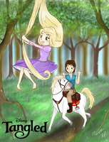 .: Tangled :. by Chazx3