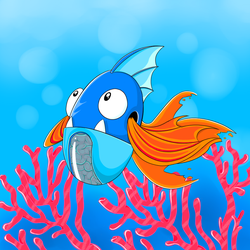 Aquarius Fish by barebalu