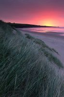 Sunrise, Lunan Bay by Greg-McKinnon