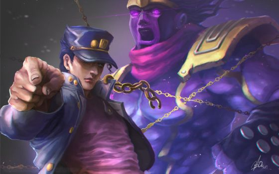 Kujo Jotaro by Overweight-Cat