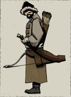 Mongol Archer by flashmcgee