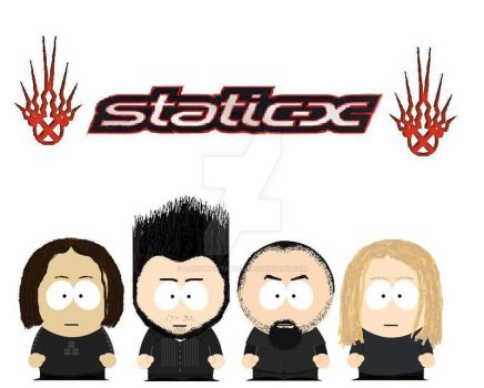 South Park Static-X by lord-nightbreed