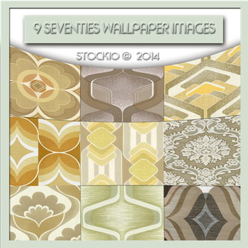 9 Seventies wallpapers by Stock10
