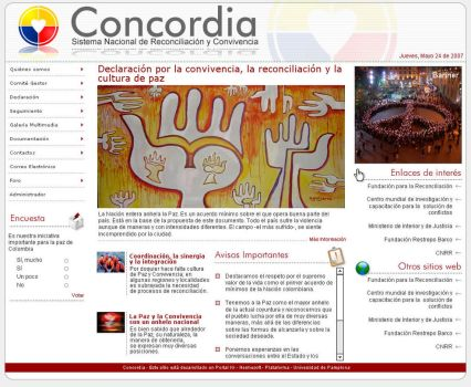 CONCORDIA website proposal by Juan-Ki
