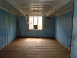 Empty Old Room 2 by ladee-stock