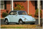 A Blue VW Convertible by TheMan268
