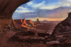 Canyon Study by MikeMeth